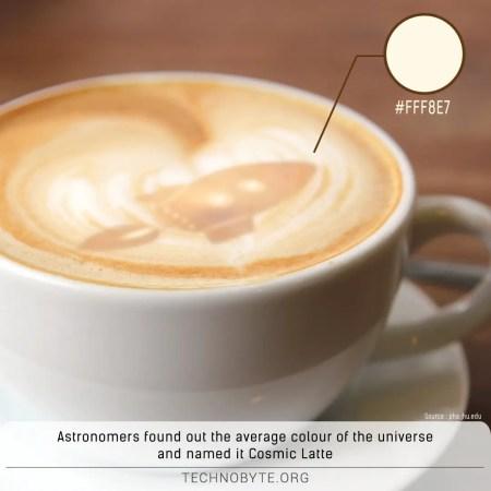 cosmic latte universe's color