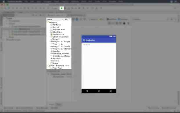 Android Studio Course - introduction to android studio