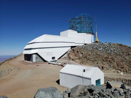 Large Synoptic Survey Telescope (LSST) - Futuristic telescopes 2