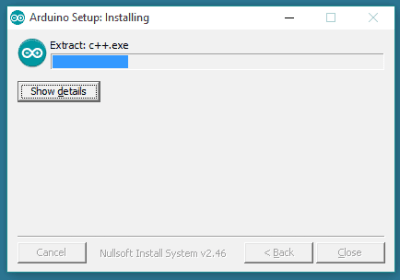 IDE installation