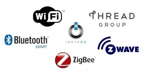 Some popular wireless protocols
