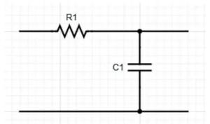 Circuit of Low Pass Filter