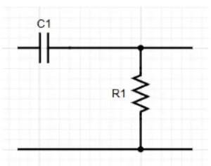Circuit for High Pass Filter