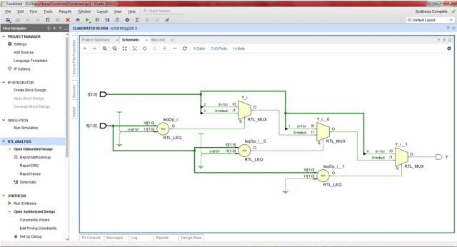 Multiplexer-behavioral-RTL schematic