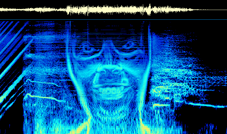 Aphex Twin spectogram