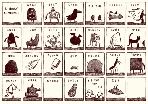 noisy alphabet