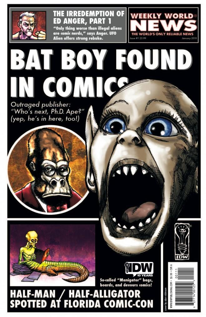 bat boy comic