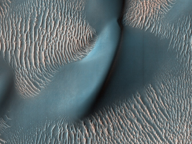 photograph from the surface of Mars