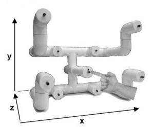 The reaching apparatus used for the study