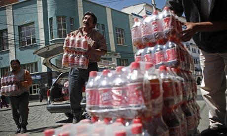 Coca Colla drink Bolivia