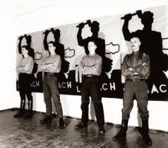 Laibach 1983 photo by Duan gerlica