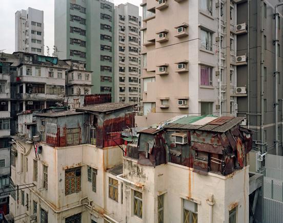 Hong Kong Rooftop slum