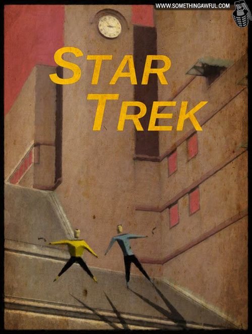 Polish Star Trek poster