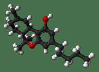 THC molecule illustration