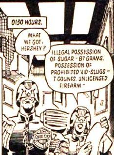 Judge Dredd - Sugar bust