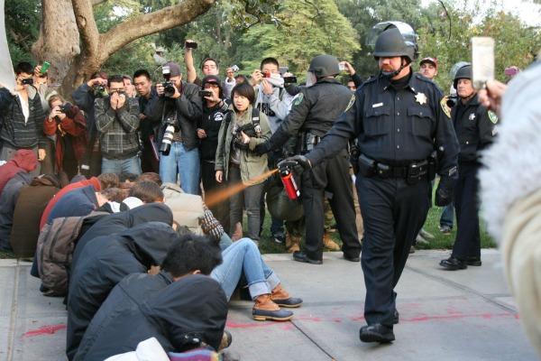 Occupy UC Davis pepper spray