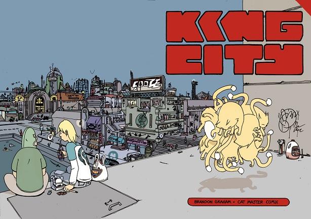 King City cover by Brandon Graham