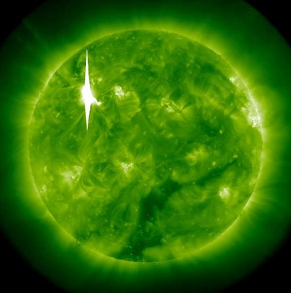 solar flare march