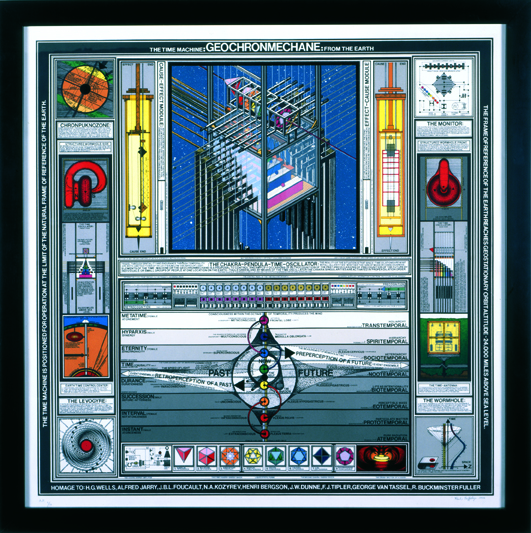 Geochromechane: The Time-Machine From Earth by Paul Laffoley