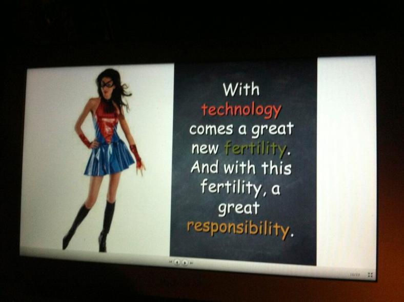 TEDxSummerisle slide