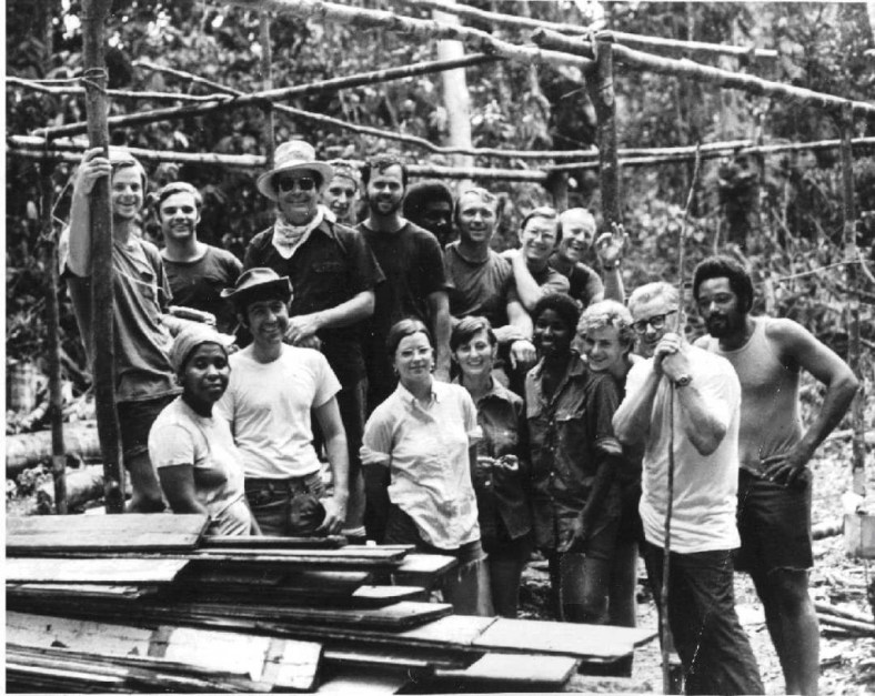 Jonestown work crew