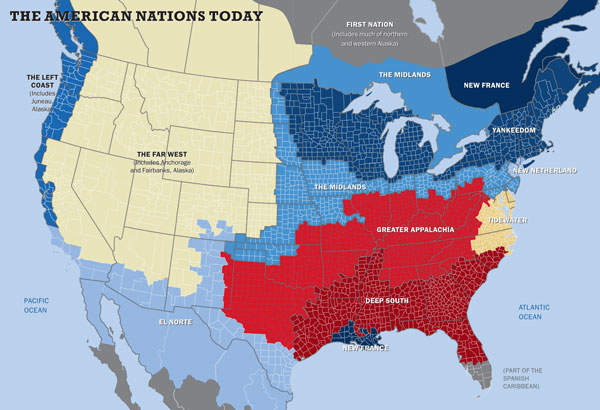 11 American Nations