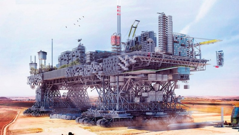 Very Large Structure: a Walking City for the 21st Century