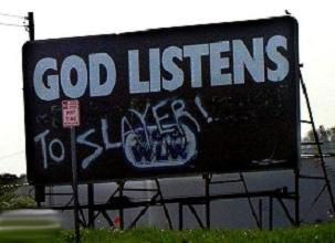 god listens to slayer