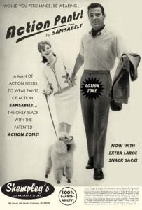 Sansabelt Action Pants