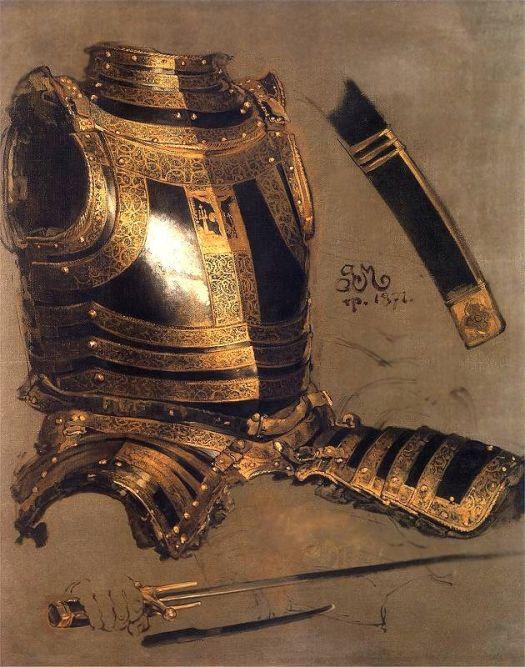 Armor of Stefan Batory-1872