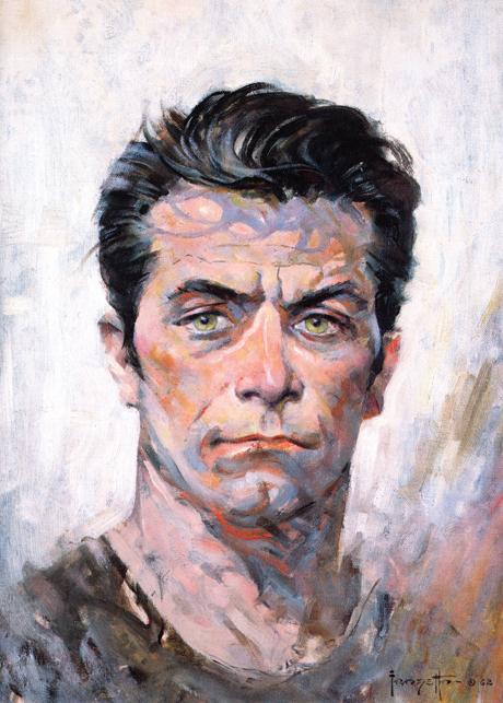 Frank Frazetta portrait