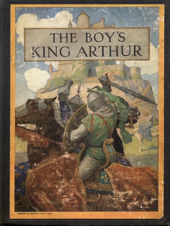 Cover Of The Boy's King Arthur 1922