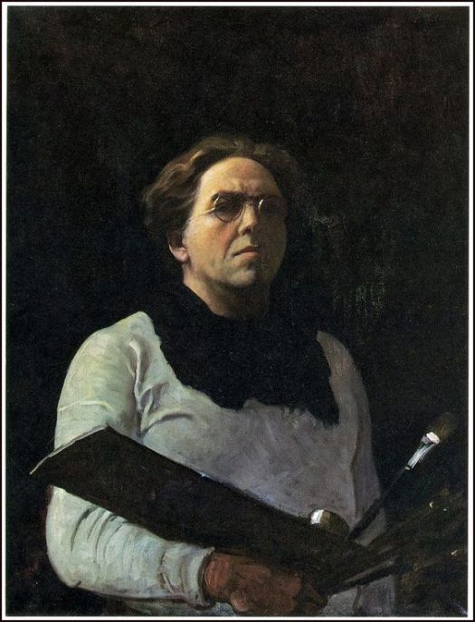 N. C. Wyeth self-portrait 1902