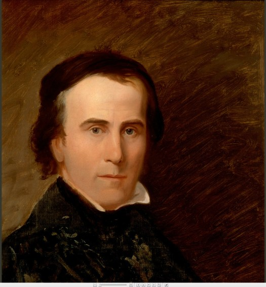Thomas Cole self-portrait