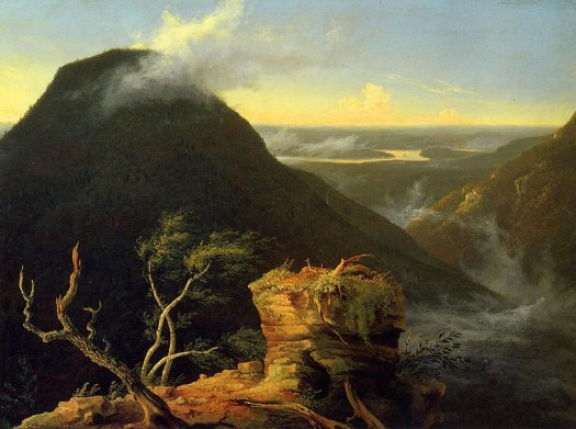 Sunny Morning on the Hudson River- 1827