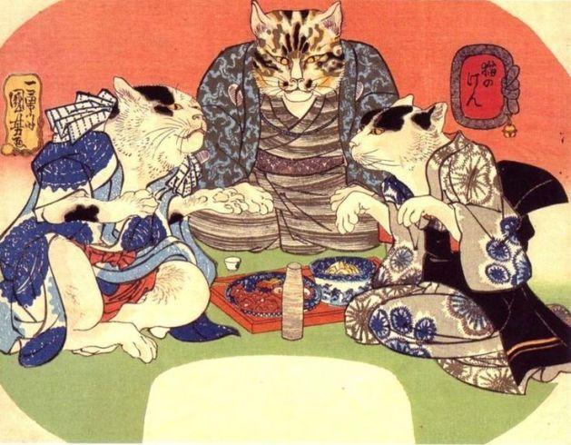 Utagawa Kuniyoshi cats 2
