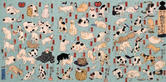 Utagawa Kuniyoshi cats 3
