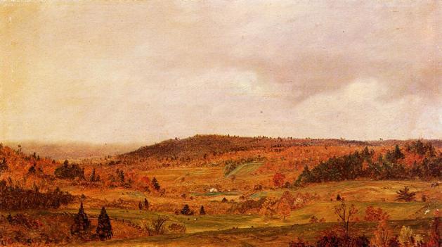 Autumn Shower - 1859