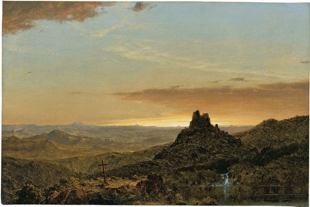Cross in the Wilderness - 1857