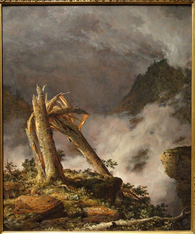 Storm in the Mountains - 1847