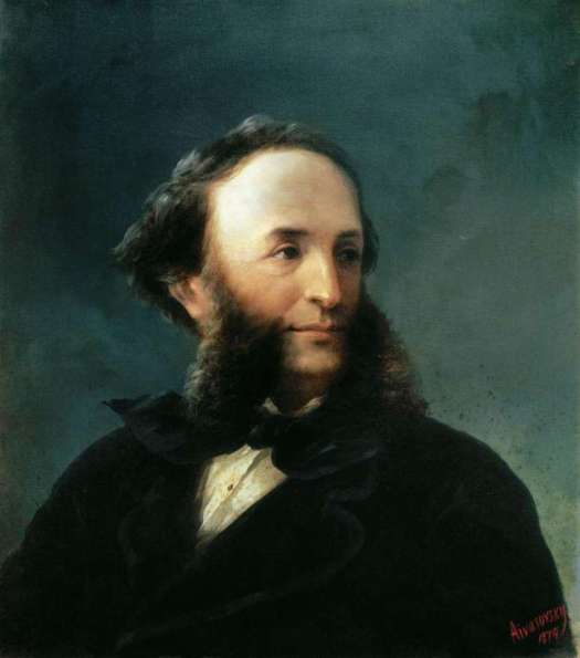 Ivan Aivazovsky - Self-portrait 1874