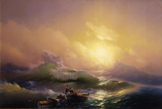 Ivan Aivazovsky - The Ninth Wave -1850