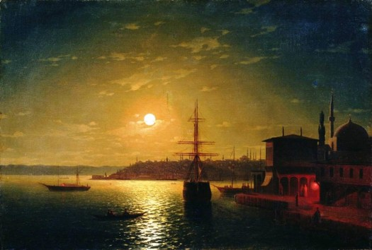 Ivan Aivazovsky - The Bay Golden Horn - 1845
