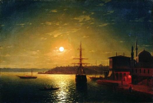 Ivan Aivazovsky - The Bay Golden Horn - 1845