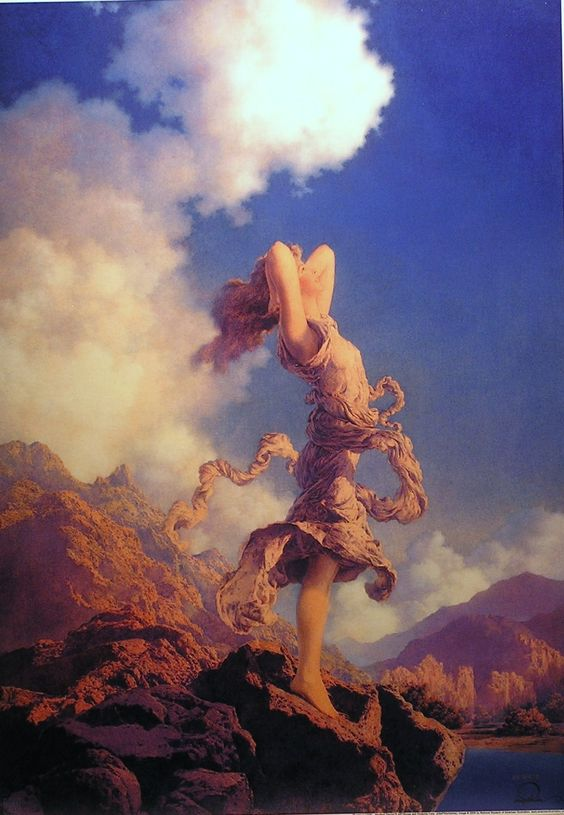 Maxfield Parrish - Ecstasy