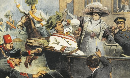Murder of Archduke Franz Ferdinand - 1914