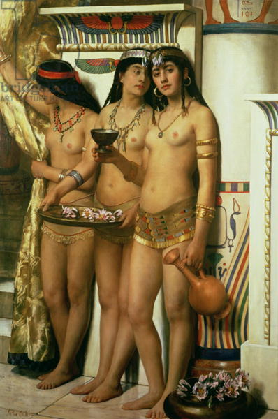Pharaoh's Handmaidens by John Collier - 1883