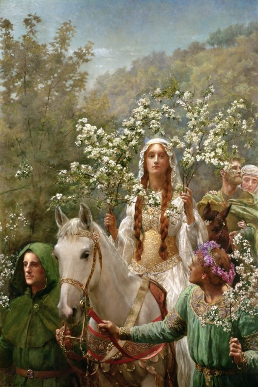 John Collier - Queen Guinevre's Maying -1900
