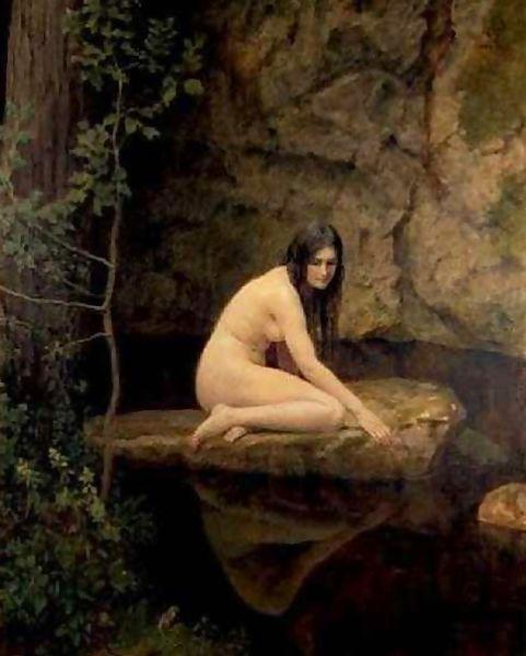 John Collier - The Water  Nymph -1923