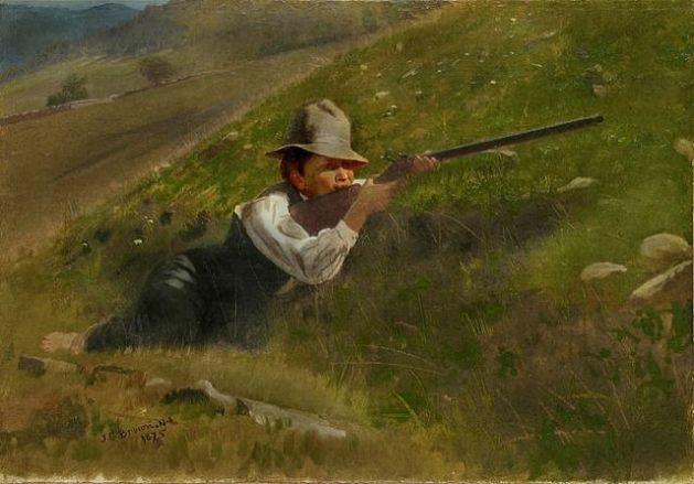 John George Brown - Hunter